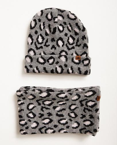 Set aus Schal und Mütze